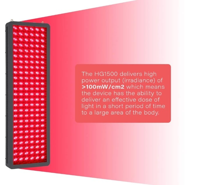 Hooga Red Light Therapy Device HG1500