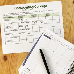 Crosscutting Concept Tracker