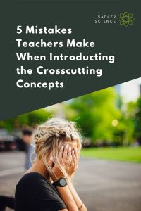 5 Mistakes Crosscutting Concepts