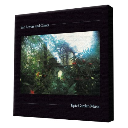 Sad lovers & Giants Epic Garden Music stretch canvas print
