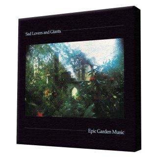 Sad lovers & Giants Epic Garden Music stretch canvas print