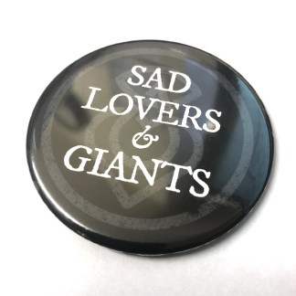 Sad Lovers & Giants Fridge Magnet