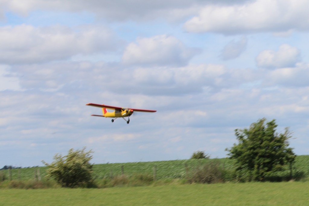 Snr's Cardinal on a low pass  (over shoot really)