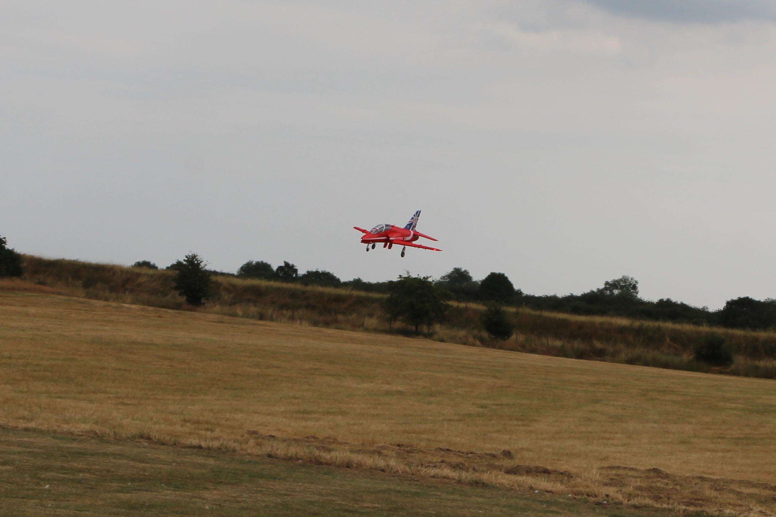 On final approach gear down
