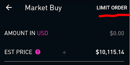 Does robinhood have bitcoin trading