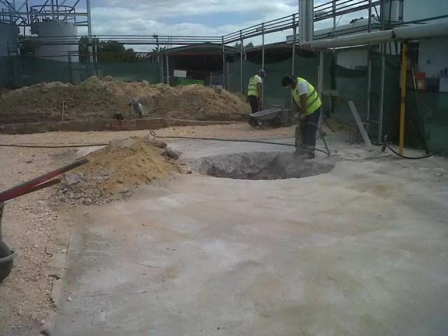Construção Armazém da Amcor em Alcácer do Sal