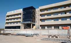 El Hotel de SADOP avanza a paso firme
