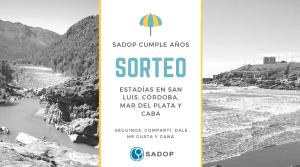 Lee más sobre el artículo Bases y condiciones del sorteo «SADOP cumple años»