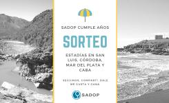 Bases y condiciones del sorteo «SADOP cumple años»