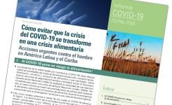 FAO y CEPAL: Millones de personas pueden caer en la pobreza extrema debido a la pandemia