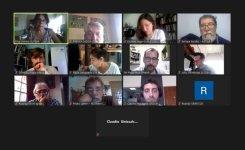 Reunión de la Intersindical de Comunicación