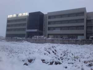 Lee más sobre el artículo Histórica nevada en Córdoba, fotos del hotel de SADOP en Cosquín