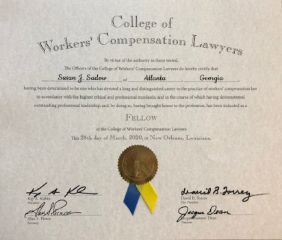 College of Workers' Compensation Lawyers