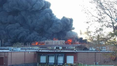 Burn Injuries suffered on the job from warehouse fire