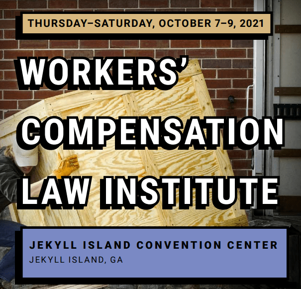 flyer for workers' compensation event