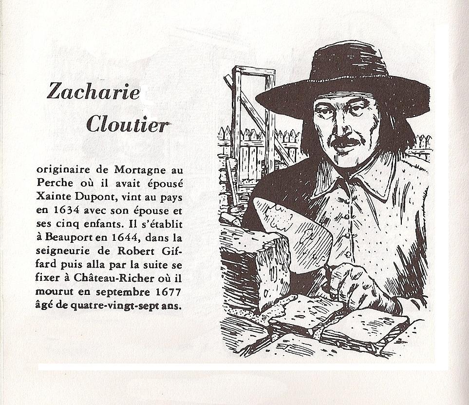 L'ancêtre Labatt de la semaine: Zacharie Cloutier (3/4)