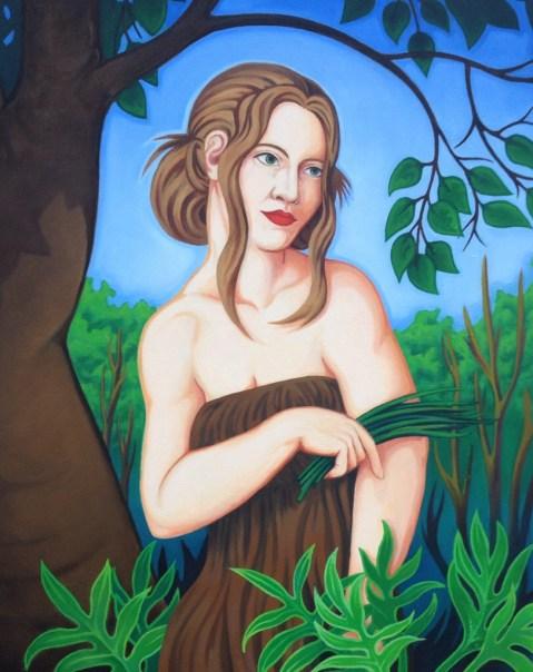 """'The Garden' Oil on Canvas 24"""" x 32"""""""