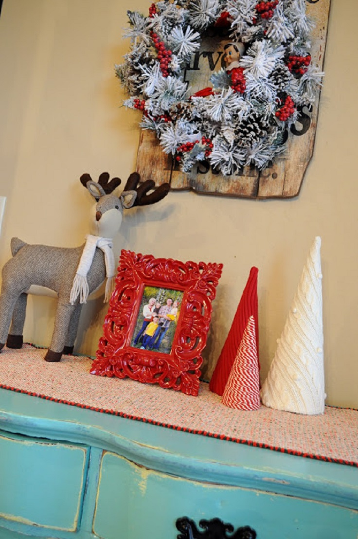 11 DIY Ideas to Reuse Your Old Sweaters For Christmas Decorations Part 1  Sad To Happy Project