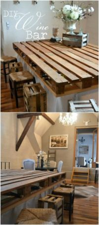125 Easy DIY Pallet Projects and Ideas For Your Kitchen ...