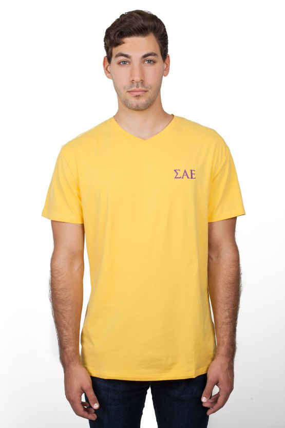 SAE Clothes Gold T Shirt