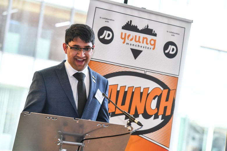 Saeed Atcha at Young Manchester Partners Launch