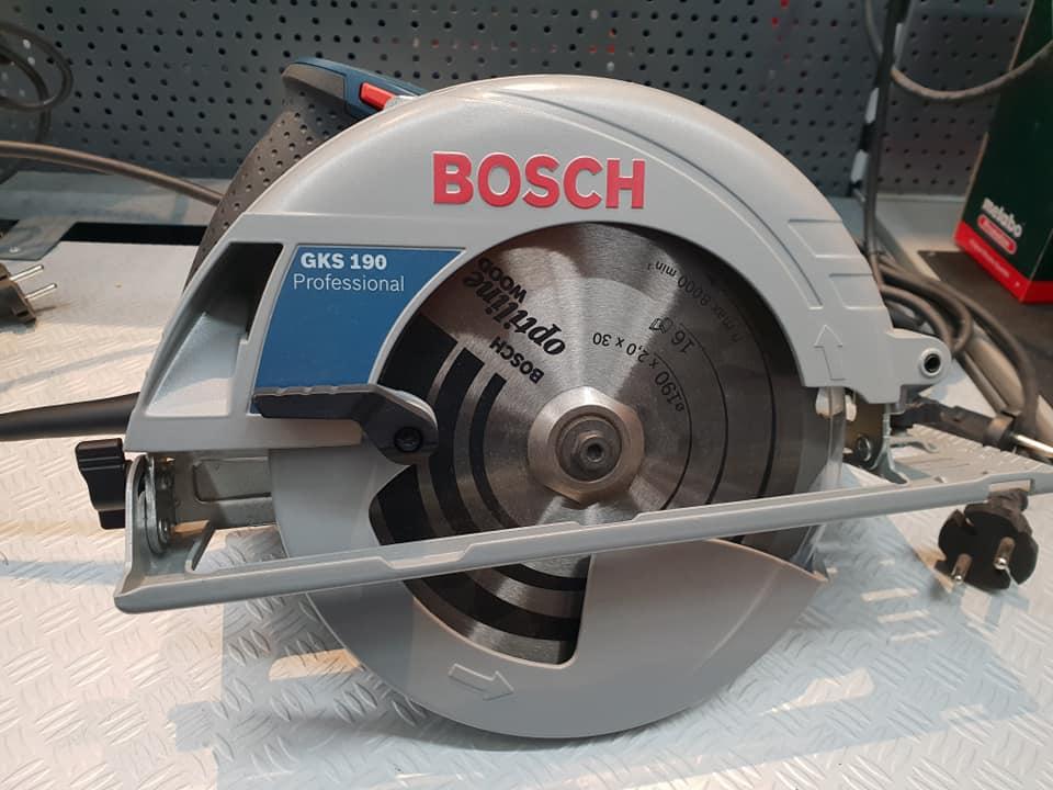 Bosch Professional GKS 190 Handkreissäge auf saegehandbuch.de