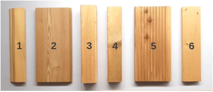 Welches Holz mit der Kappsäge sägen