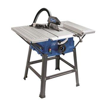 Scheppach HS100S Tischkreissäge, 2.000 Watt, Sägeblatt Ø 250 mm, Schnitthöhe 85 mm -