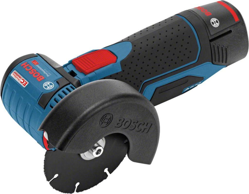 Kompakt: Bosch Professional GWS 12V-76 Akku-Flex/Winkelschleifer