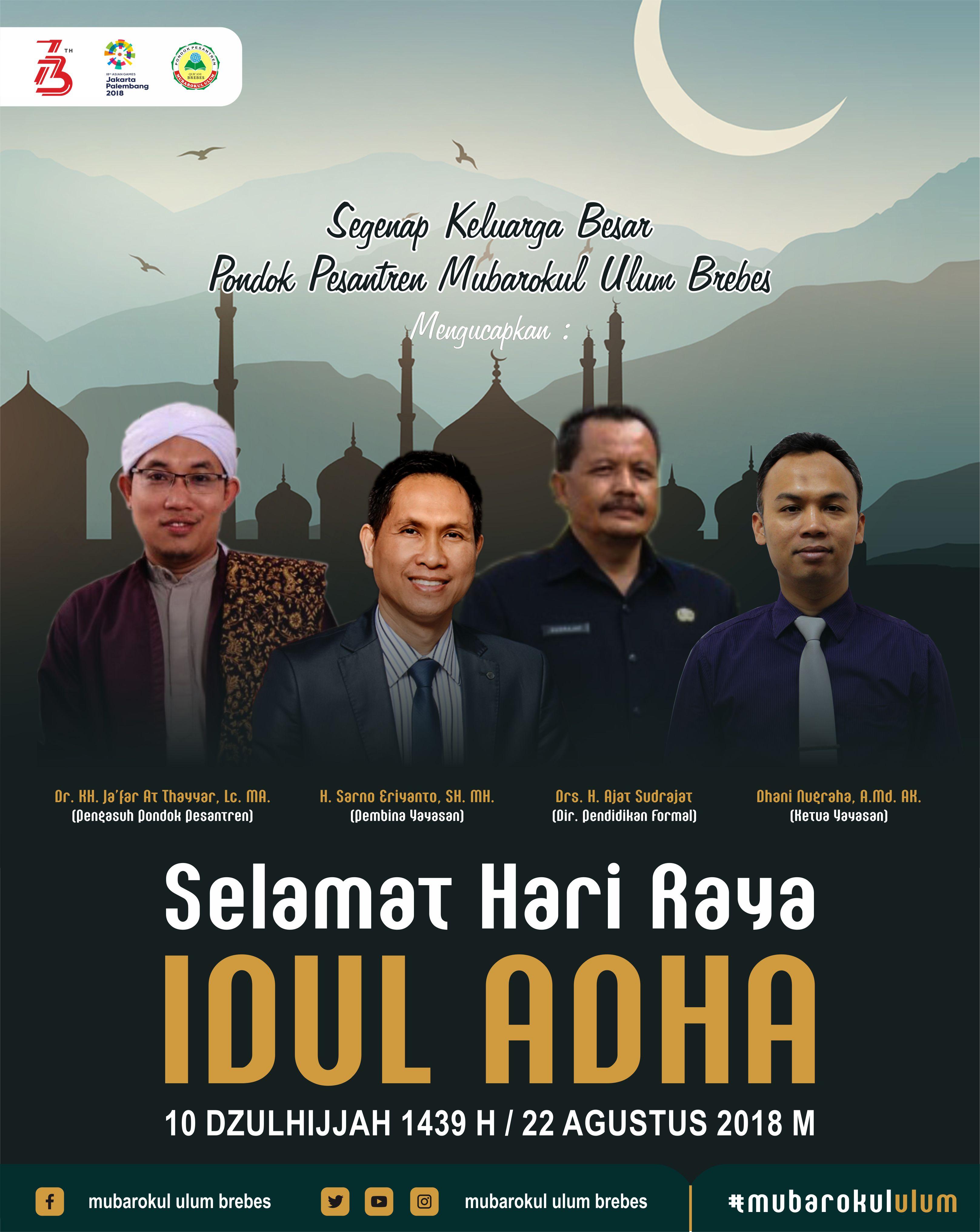 Idul Adha Cdr : Poster, Tulisan