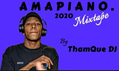 ThamQue DJ Amapiano Mix 2020 10K Appreciation Mp3 Download Safakaza