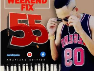 DJ Ice Flake WeekendFix 55 Mix Amapiano Edition 2021 Mp3 Download SaFakaza