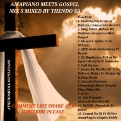 Thendo SA Amapiano Gospel Mix Mp3 Download SaFakaza