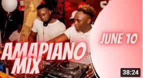 PS DJz – Amapiano mix 2021 11 JUNE ft Kabza De small, Maphorisa, MFR souls