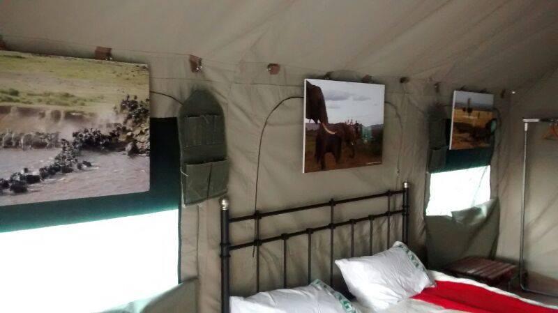 Interior Tented Camp