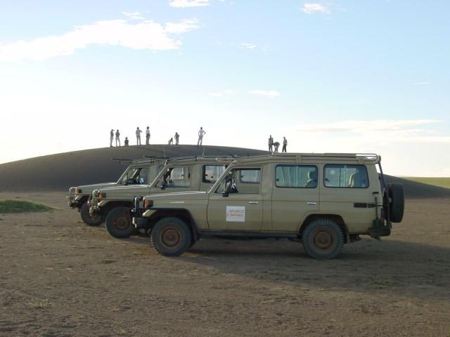 Dunas de Olduvai. Tanzania. Abril de 2006
