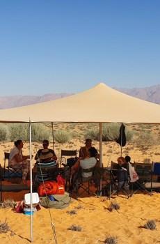 Camino Camp Set up