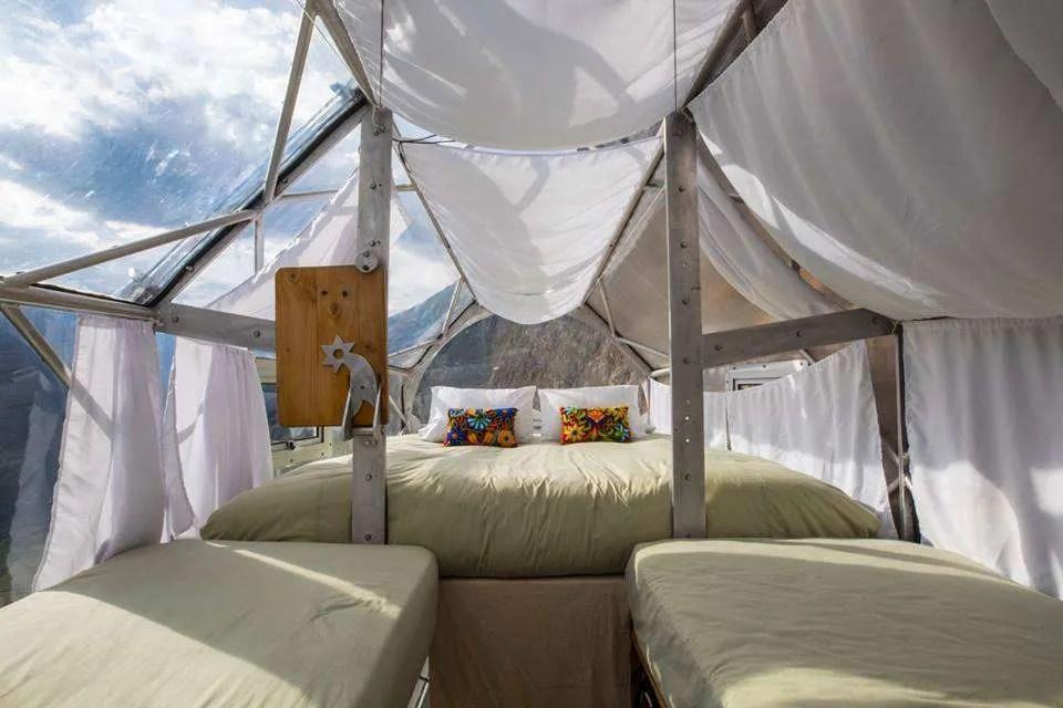 Skylodge Adventure suites in Peru, Glass pods
