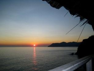 Sunset in Cinque Terre