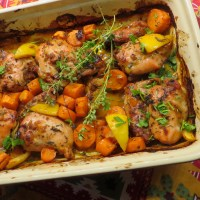 Sweet, Tangy and Spicy Roast Chicken