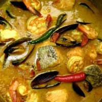 Goan Curried Fish Stew