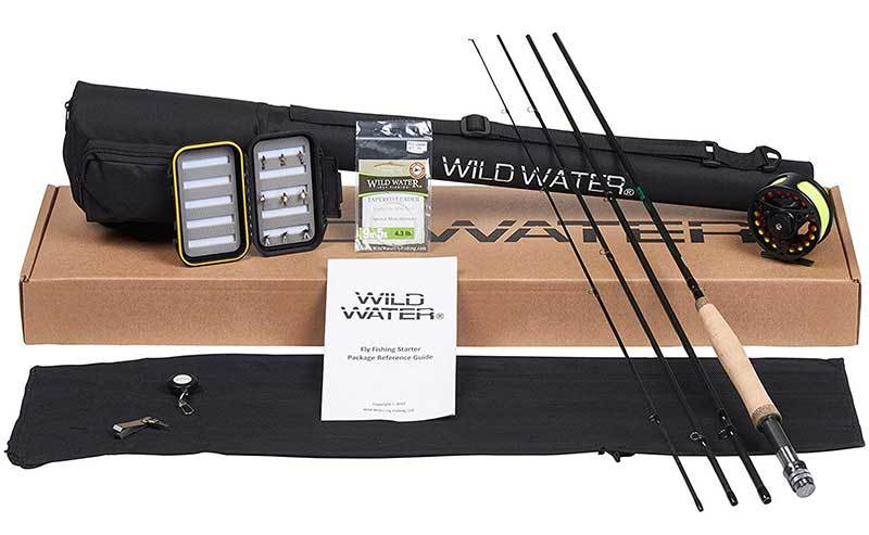 Rod Fly Fishing Complete Starter Package Combo