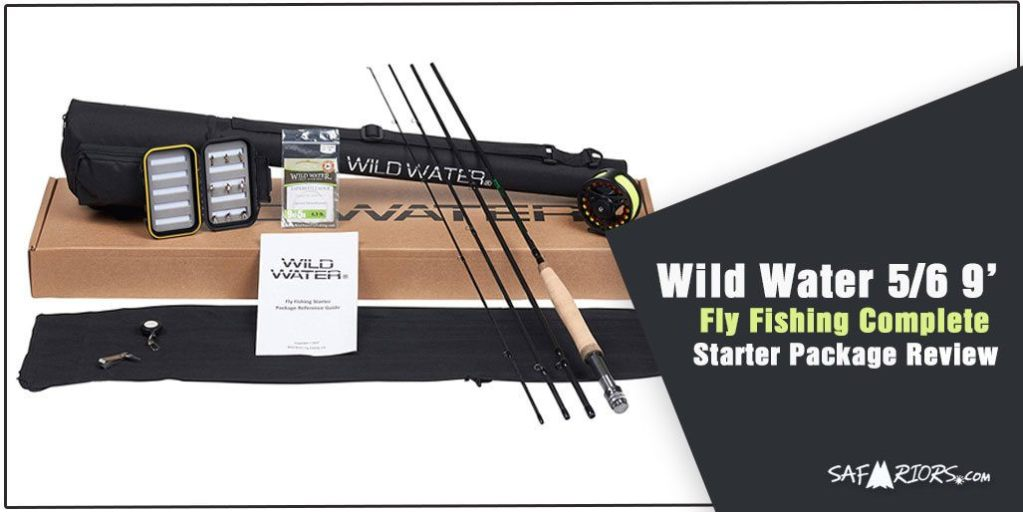 Wild Water 5/6 9' Rod Fly Fishing Complete Starter Package Combo Review