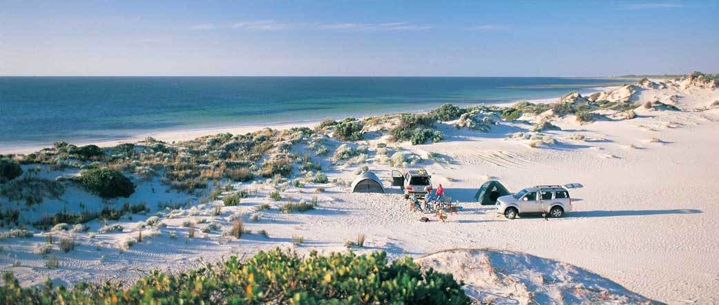 Campgrounds near sea or mountain