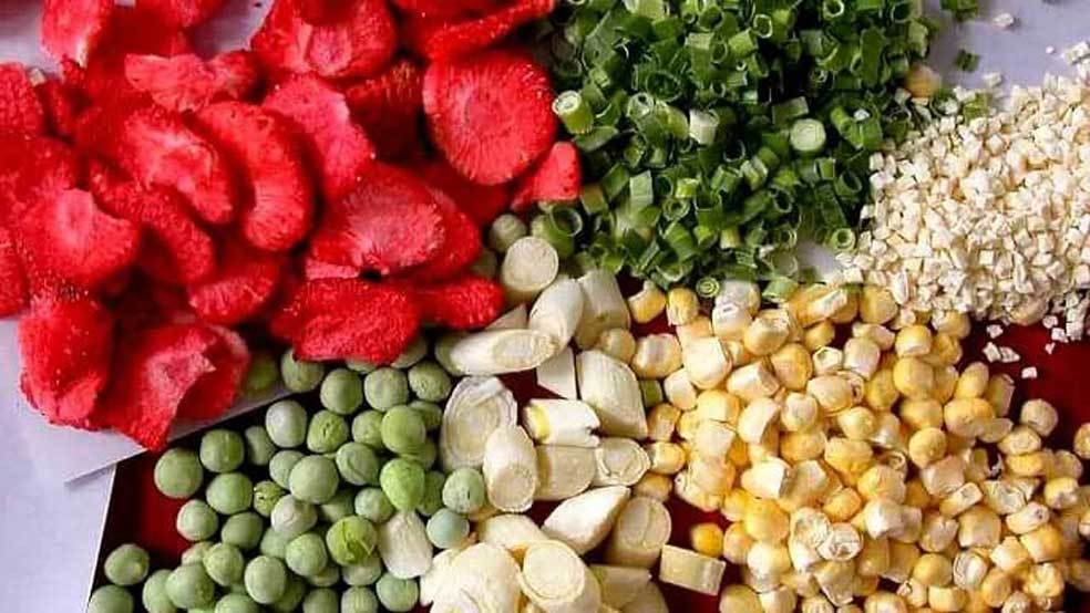 Freeze Dried Foods for Walking