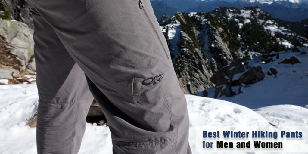Best Winter Hiking Pants for Men and Women