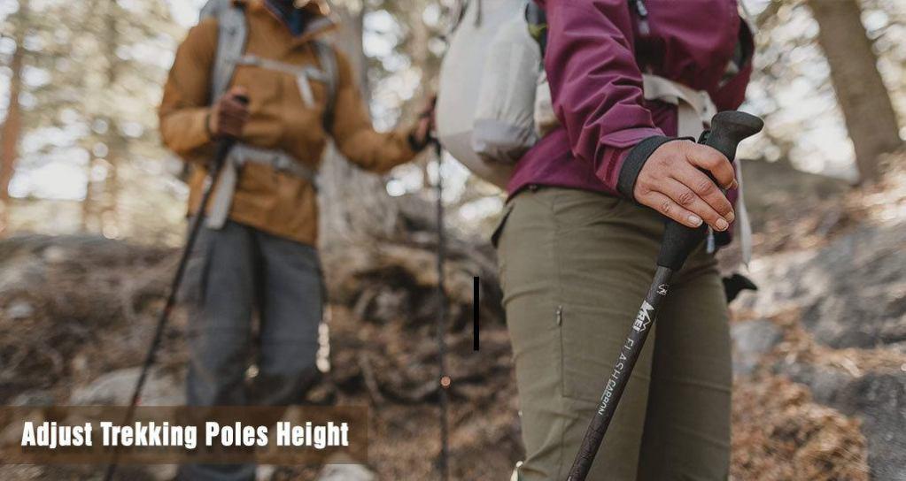 How to Adjust Trekking Poles Height