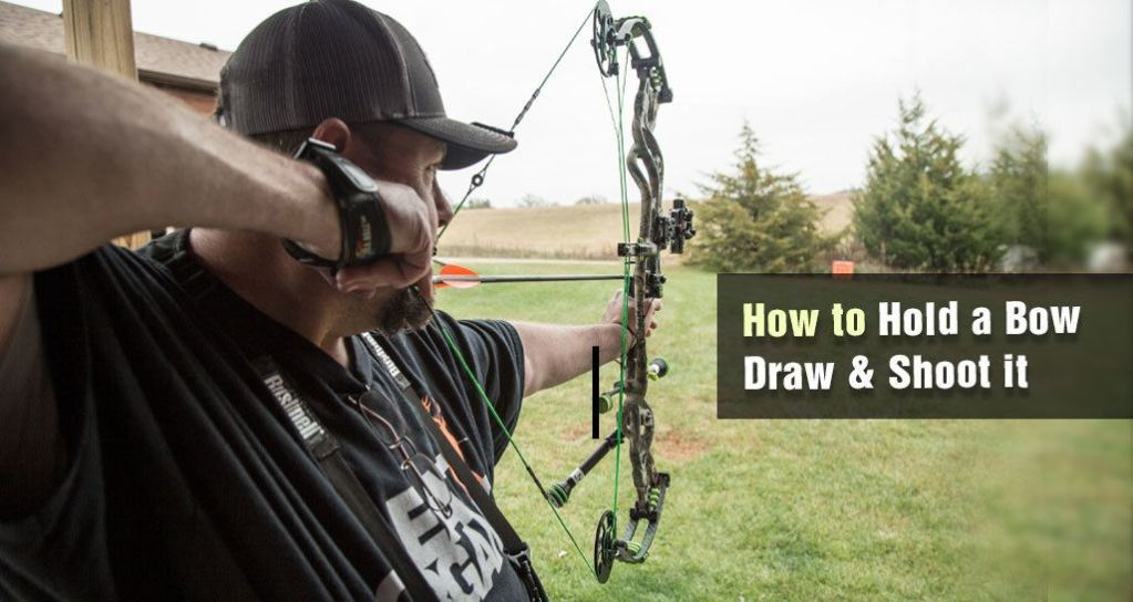 How to Hold a Bow, Draw & Shoot it with Right Position