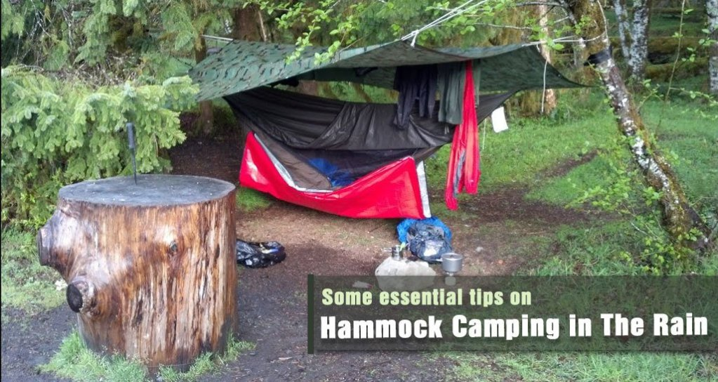 Hammock Camping in The Rain