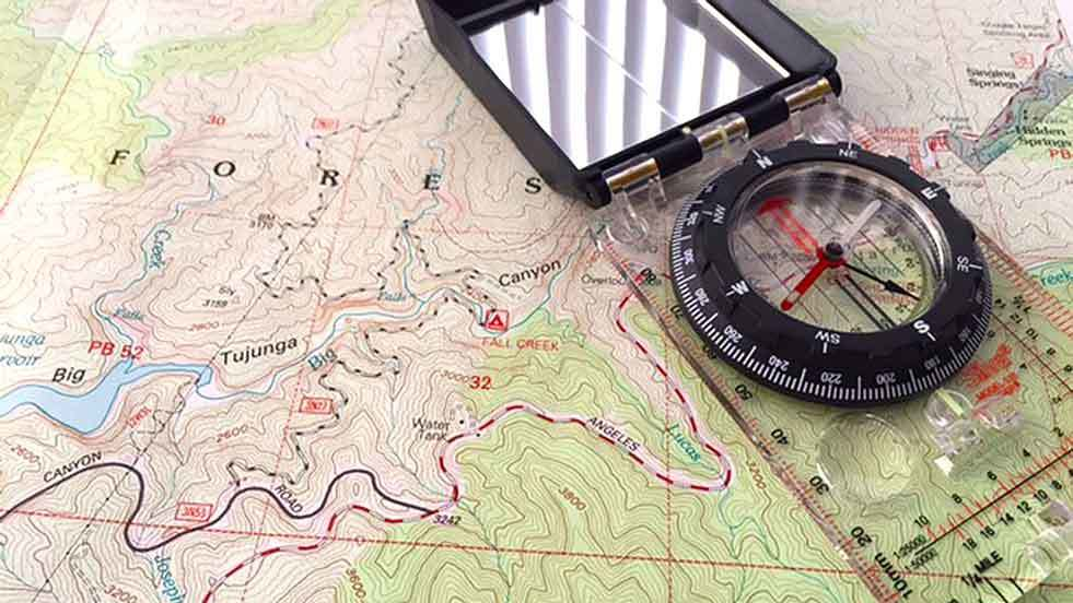 Map and Compass for Elk Hunting